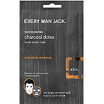Every Man Jack Charcoal Facial Sheet Mask Oil Defense