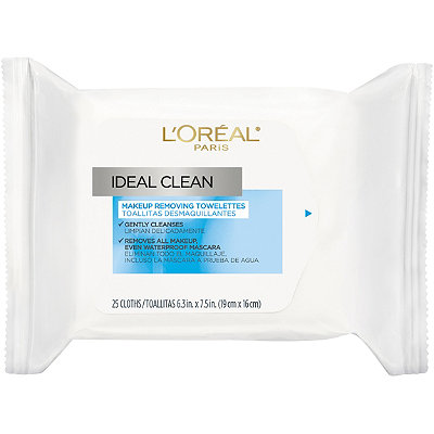 Ideal Clean Makeup Removing Facial Towelettes