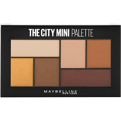 Online Only The City Mini Eyeshadow Palette Hi-Rise Sunset