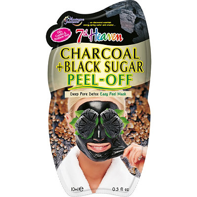 7th Heaven Charcoal and Black Sugar Peel Off Mask