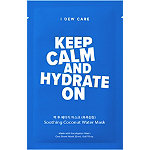I Dew Care Keep Calm & Hydrate On Sheet Mask