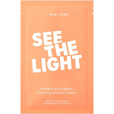 I Dew Care See the Light Sheet Mask