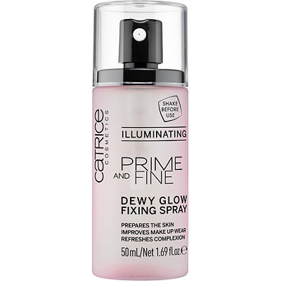 Prime And Fine Dewy Glow Finish Spray - Illuminating