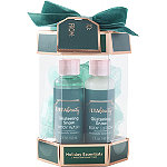 Glistening Snow Holiday Essentials 3 Piece Bath Gift Set