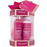Pomegranate Prosecco Holiday Essentials 3 Piece Bath Gift Set