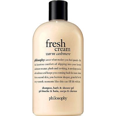 Fresh Cream Warm Cashmere Shampoo, Bath & Shower Gel