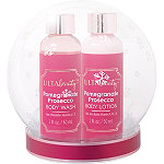 Online Only Snow Globe Bath Gift Set Pomegranate Prosecco