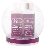 Online Only Snow Globe Bath Gift Set Whipped Vanilla Crème
