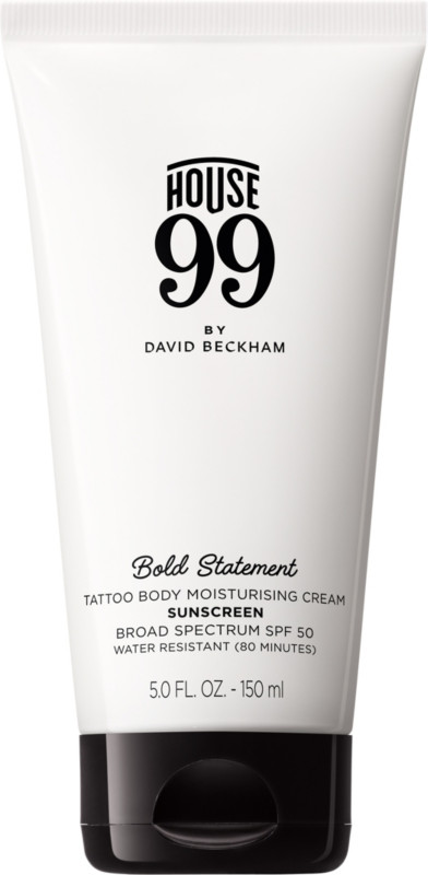 Bold Statement Tattoo Body Moisturising Cream Spf 50 by House 99 By David Beckham