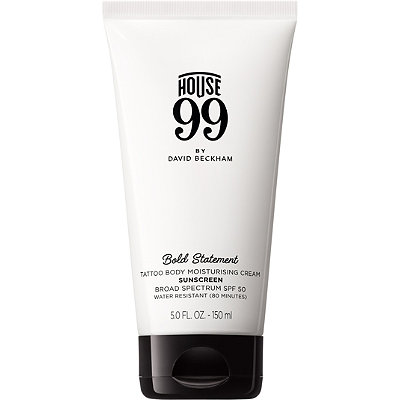 Bold Statement Tattoo Body Moisturising Cream SPF 50