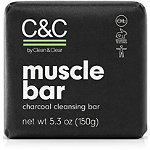 C&C by Clean & Clear Muscle Bar Charcoal Cleansing Bar