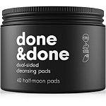C&C by Clean & Clear Done & Done Dual Sided Cleansing Pads