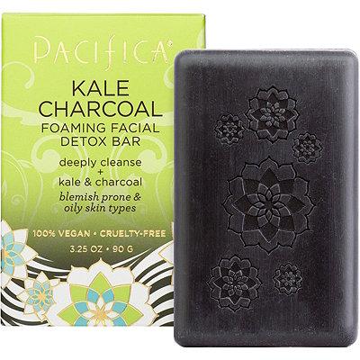Kale Charcoal Foaming Facial Detox Bar