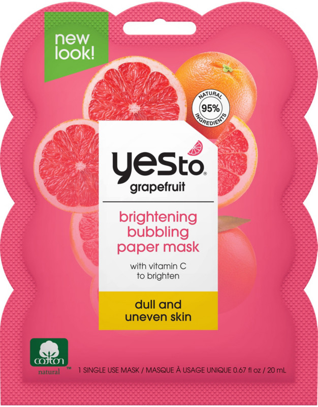Yes to Grapefruit Bubbling Paper Mask | Ulta Beauty