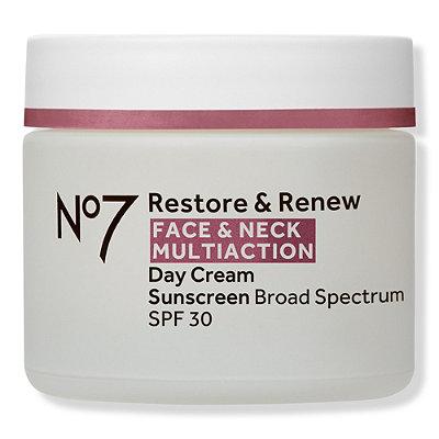Restore & Renew Face & Neck Multi Action Day Cream SPF 30
