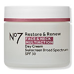 No7 Restore & Renew Face & Neck Multi Action Day Cream SPF 30