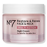 No7 Restore & Renew Face & Neck Multi Action Night Cream