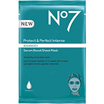 No7 Protect & Perfect Intense Advanced Serum Boost Sheet Mask