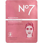 No7 Restore & Renew Multi Action Serum Boost Sheet Mask