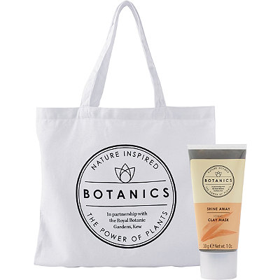 FREE Tote & Deluxe Clay Mask w/any $20 Botanics purchase