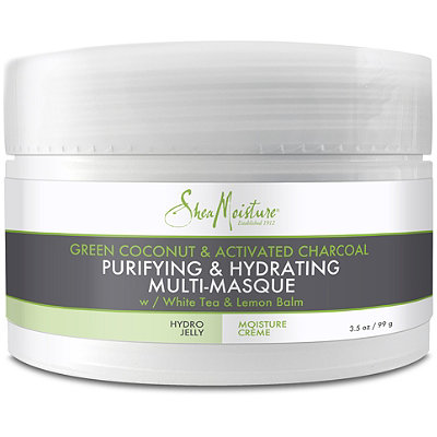 Green Coconut & Activated Charcoal Mutli-Masque