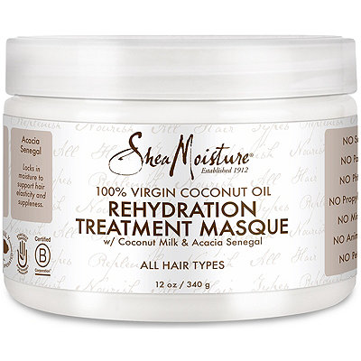 100% Virgin Coconut Oil Rehydration Masque