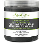 SheaMoisture Green Coconut & Activated Charcoal Exfoliating Hair Mud