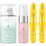 FREE Prep Rally Detangler, Triple Sec 3-In-1 and 2 Hold Me Hair Clips w/any $40 Drybar purchase
