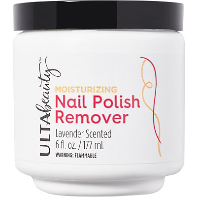 Moisturizing Lavender Scented Nail Polish Remover