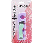 Diamond Cosmetics Gel Toe Separators and Clipper
