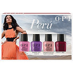 Peru Nail Lacquer Collection Mini Pack