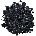 Dose Of Colors Block Party Single Eyeshadow X-Ray (black base w/ icy silver reflects)