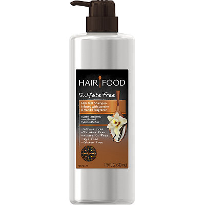 Sulfate Free Hair Milk Shampoo Infused with Jasmine & Vanilla Fragrance