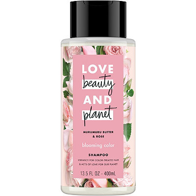 Murumuru Butter and Rose Blooming Color Shampoo