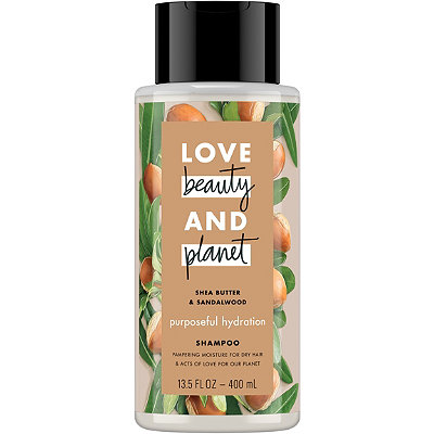 Shea Butter and Sandalwood Purposeful Hydration Shampoo