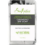SheaMoisture Green Coconut & Activated Charcoal Cleansing Bar Soap