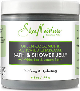 Sheamoisture Green Coconut Activated Charcoal Bath Shower Jelly