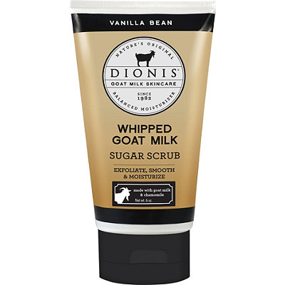 Vanilla Bean Whipped Goat Milk Sugar Scrub