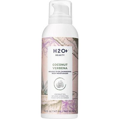Coconut Verbena Mousse To Oil Shimmering Body Moisturizer