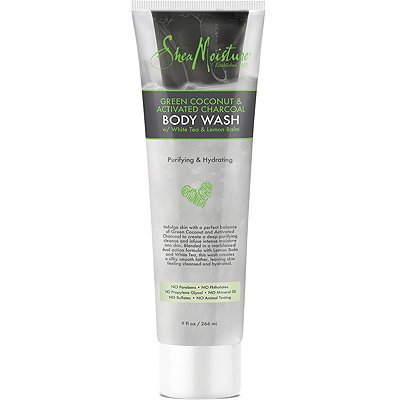 Green Coconut & Activated Charcoal Purifying & Hydrating Body Wash