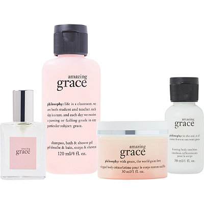 Online Only FREE 4 Pc Amazing Grace Gift Set w/any $35 Philosophy fragrance collection purchase
