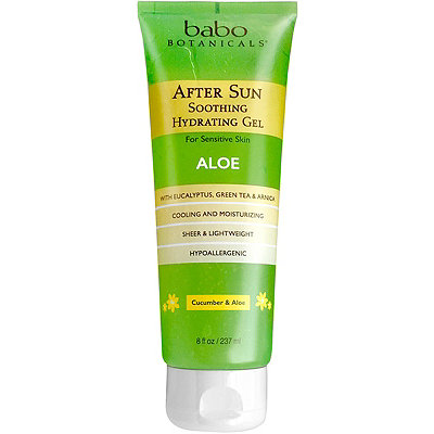 After Sun Soothing Hydrating Organic Aloe Gel
