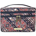 Desert Damsel Travel Double Zip Train Case Makeup Organizer Bag