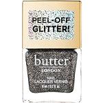 Butter London Glazen Peel-Off Glitter Lacquer Black Magic