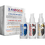 Online Only Three Amigos Beard Oil Trio Set