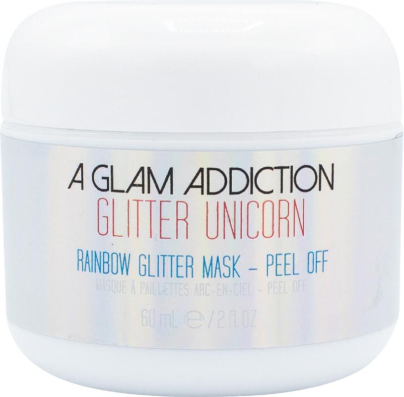 Glitter Unicorn Peel Off Rainbow Glitter Mask