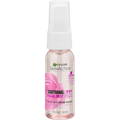 Travel Size SkinActive Facial Mist Spray with Rose Water