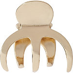 Kitsch Gold Octopus Claw Clip