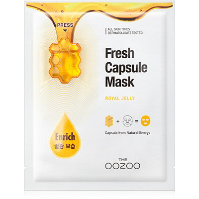 Online Only Fresh Capsule Mask Royal Jelly