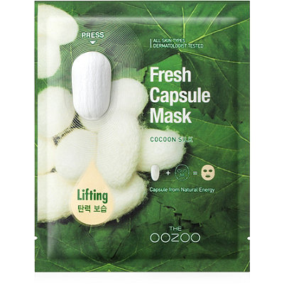 Online Only Fresh Capsule Mask Cocoon Silk